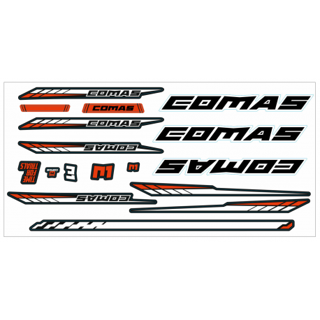 R1 Stickers Set