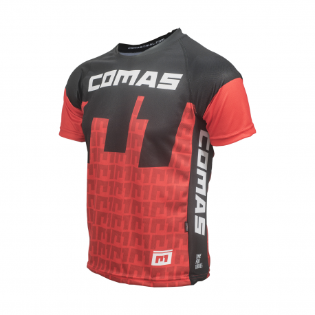 Camiseta Manga Corta COMAS Rojo
